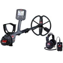 Minelab CTX-3030 Standard with Wireless Headphones and Wireless Module on white background