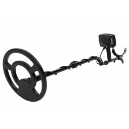 "Angled view of Minelab X-Terra 705 Universal Metal Detector starting at 9"" Search Coil"
