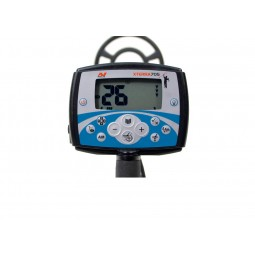 Minelab X-Terra 705 Metal Detector screen display and buttons