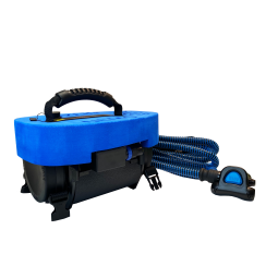 The BLU3 Nemo diving apparatus in its case