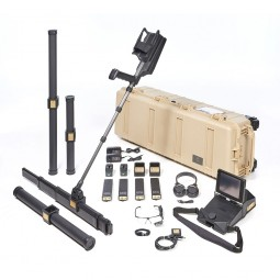 OKM eXp 6000 Professional Plus Metal Detector shown with all accessories from Kellyco Metal Detectors