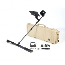 OKM Fusion Professional Plus with Tablet PC shown with carrying case and all accessories from Kellyco Metal Detectors