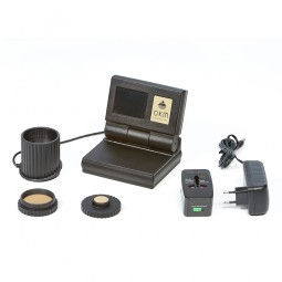 OKM Gold Labor Au 79 Metal Detector shown with all accessories from Kellyco Metal Detectors