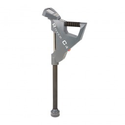 Side profile view of OKM Rover C4 Metal Detector
