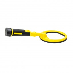 Yellow Pulse Dive with 8 inch Coil on White Background