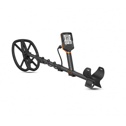 A side view of the Quest Q30 Metal Detector
