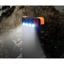 Tough Tested Solar Power Bank with Flashlight
