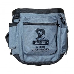 DetectorPro Gray Ghost Ultimate Catch-All Pouch on White Background
