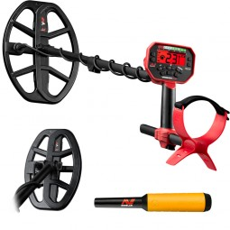 Minelab Vanquish 540 Pro-Pack Metal Detector on a white background