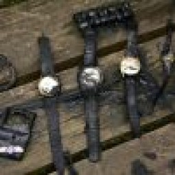 Watches found while magnet fishing