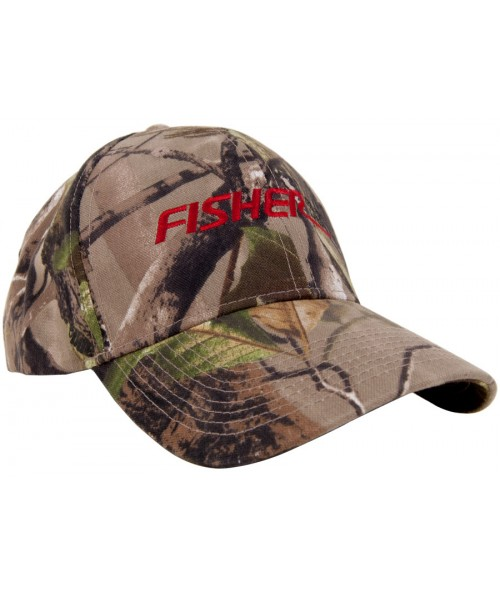 Fisher Embroidered Camouflage Cap FCCAP Image 1