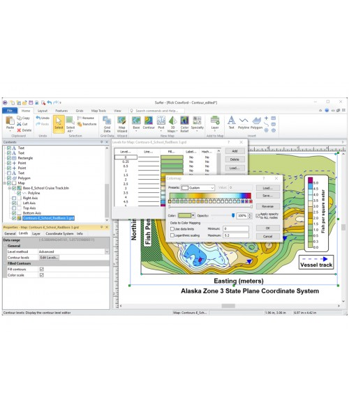 Surfer 15 3D Surface Mapping Software