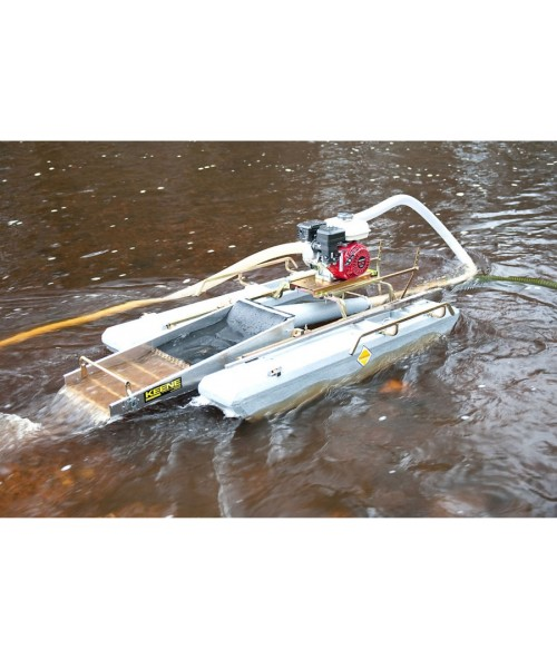 "Keene 6.5 HP Honda 3"" Ultra Mini Dredge w/ Compressor 3505PH Image 1"