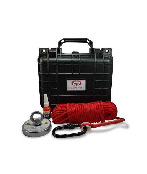Brute Box 575 lb Magnet Fishing Bundle
