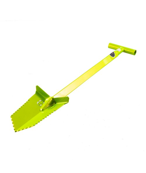 "Grave Digger Tools 36"" Nemesis Venom Green T-Handle Shovel"