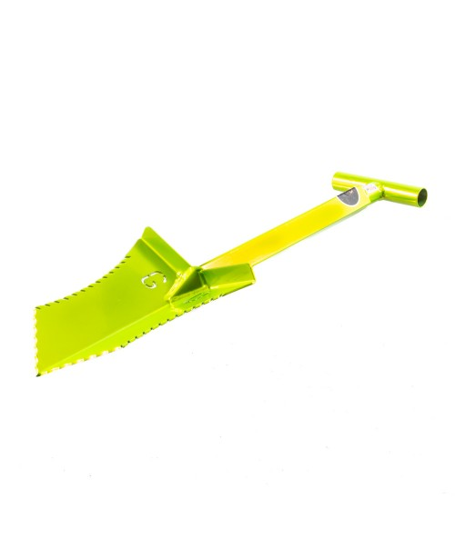 "Grave Digger Tools 27"" Tombstone Venom Green T-Handle Shovel"