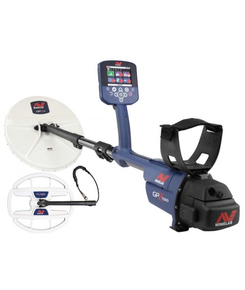 "Minelab GPZ 7000 Metal Detector with Free 19"" Coil"
