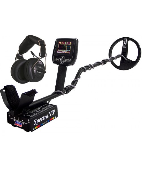White's Spectra V3i Metal Detector and SpectraSound Wireless Headphones from Kellyco Metal Detectors