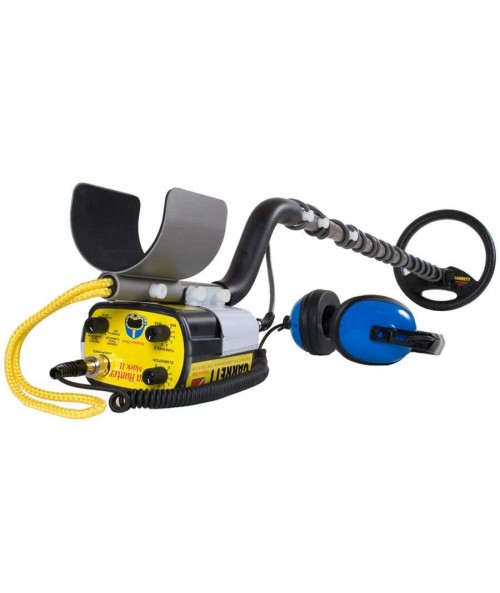 Garrett Sea Hunter Mark II metal detector with underwater headphones