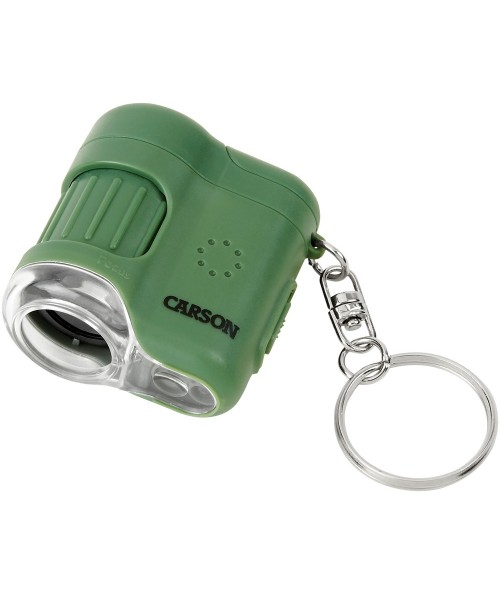 Carson 20x LED Lighted Pocket Microscope