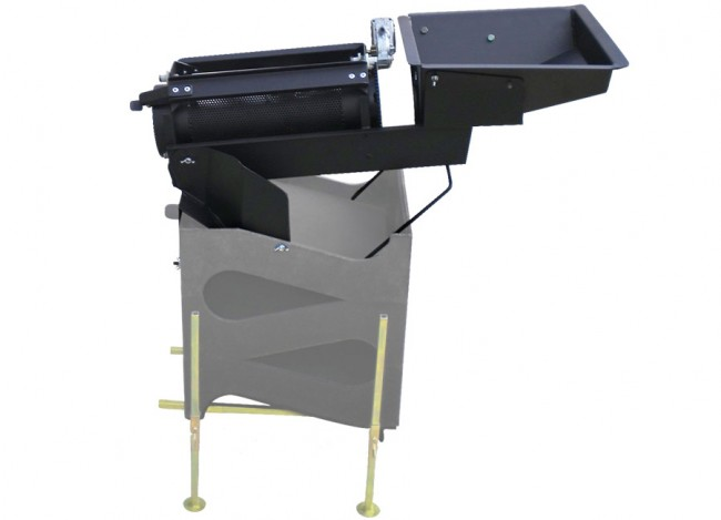 Gold Cube Trommel with Mounting Template GCT Image 1