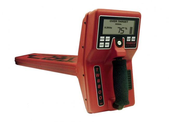Fisher TW-8800 Multi-Frequency Digital Line Tracer 1700 Image 1