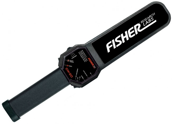 Fisher CW-10 Hand Held Security Wand CW10 Image 1
