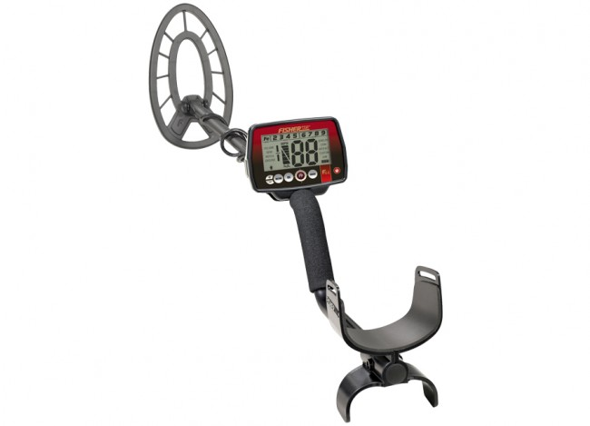 Full view of Fisher F44 Weatherproof Metal Detector with Bonus Pack from Kellyco Metal Detectors