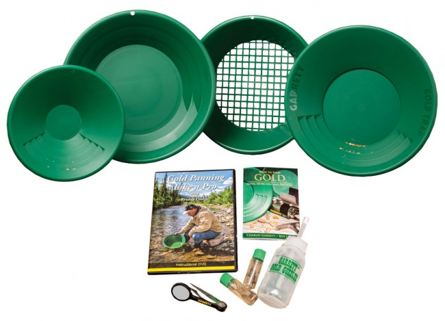 Deluxe Gold Trap Gold Panning Kit Image 1