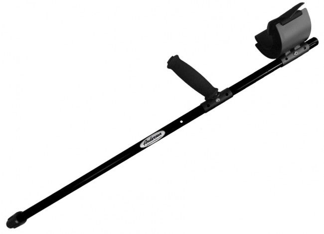 "Anderson Rods 36"" Regular Shaft - Black (White's BeachHunter 300 / Surfmaster PI Dual Field) 0832 Image 1"