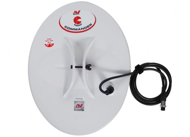 "Minelab 15x12"" Semi-Elliptical Mono Commander Search Coil 30110074 Image 1"