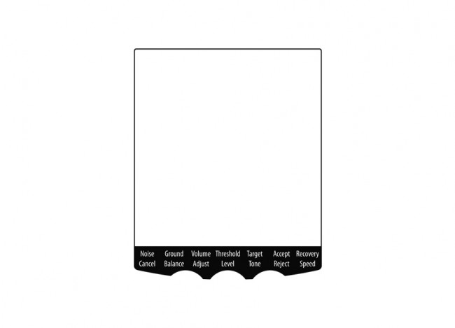 Minelab Multi-Language Screen Protector Pack (EQUINOX) 30110379 Image 1