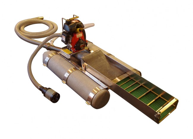 """Keene 2"""" Backpack Dredge with Power Jet 2004 Image 1"""