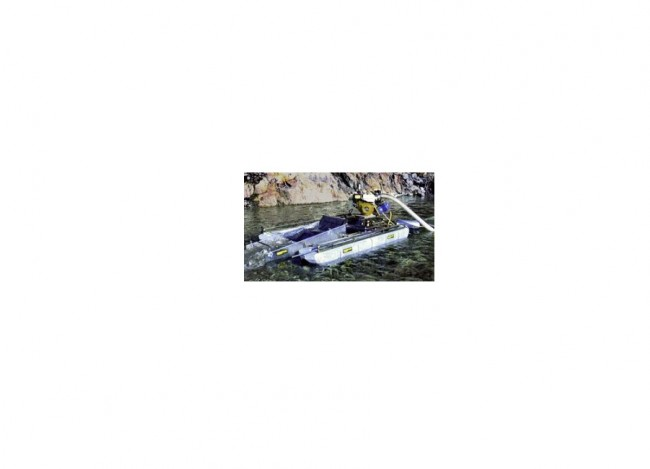 "Keene 5"" 10 HP Diesel Dredge with 3 Stage Sluice 5110D Image 1"