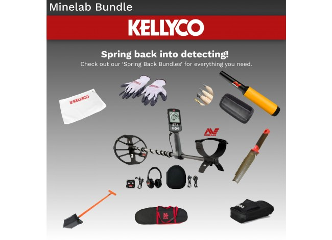 Minelab Equinox 800 with Accessories and Pro Find 15
