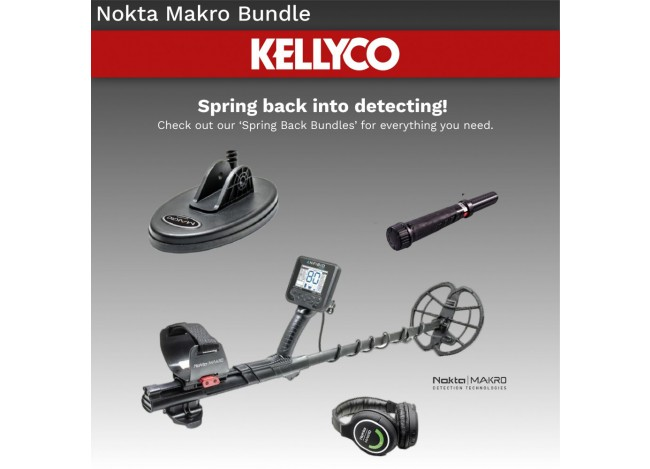 Nokta Makro Anfibio Metal Detector with Coil and Pulsedive Pinpointer