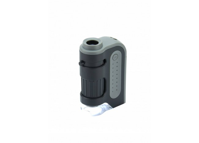Carson 60-120x LED MicroBrite Plus Pocket Microscope Full View