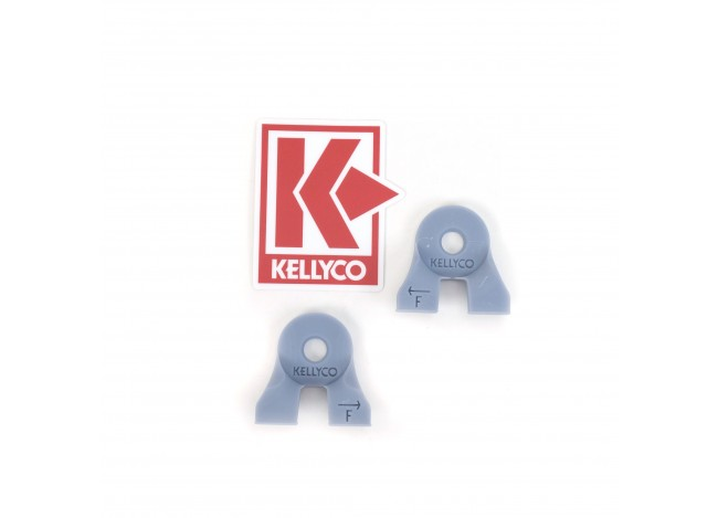 Kellyco Coil Ear Muff Reinforcers for Minelab Equinox 11 Inch Search Coil