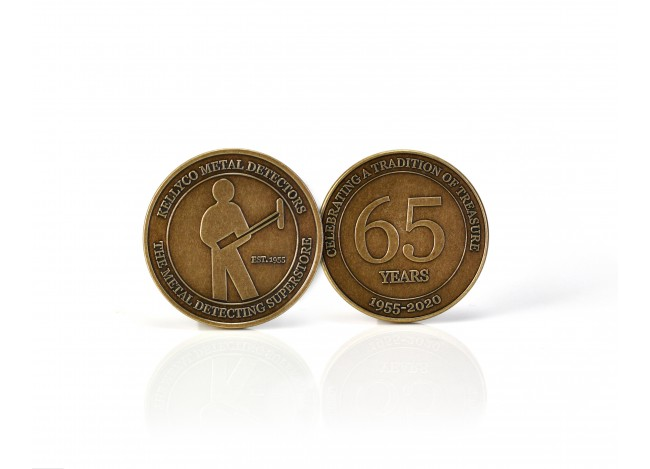 Kellyco Metal Detectors 65th Anniversary Commemorative Coin