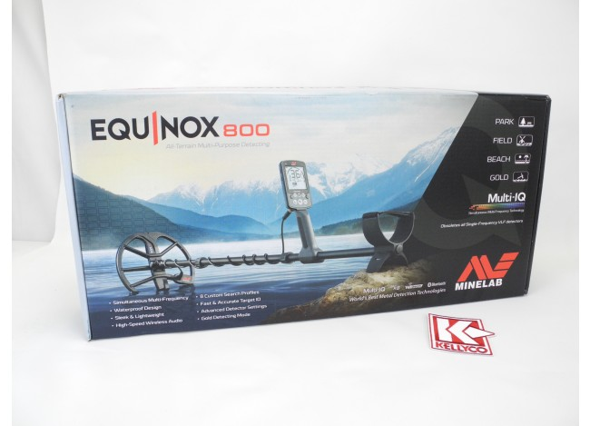 Used - Minelab Equinox 800 Metal Detector with Headphones