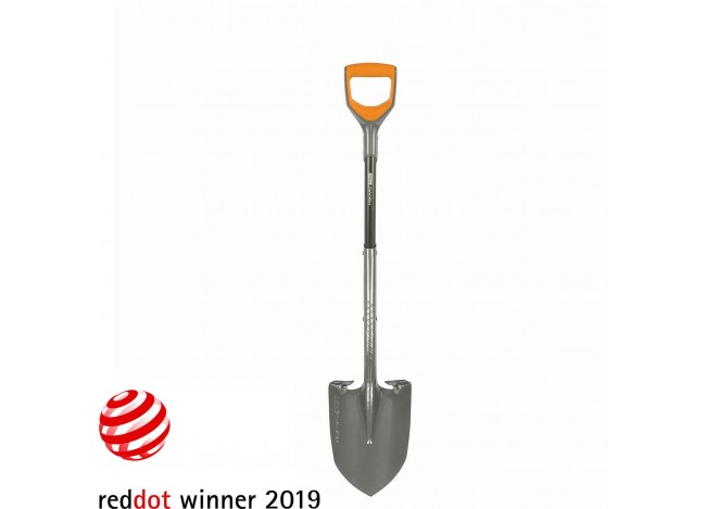 Fiskars Pro D-Handle Shovel full view