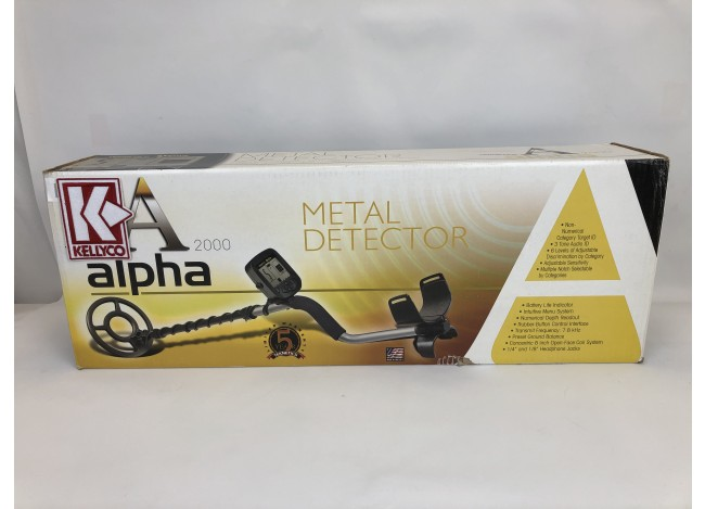 Used - Teknetics Alpha 2000 Metal Detector