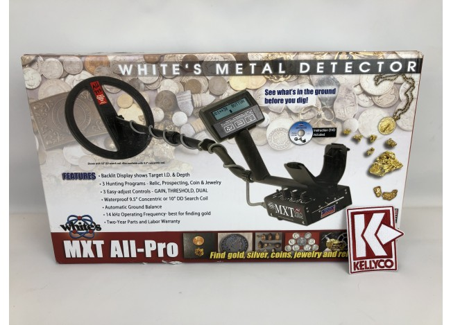 Used - White's MXT All-Pro Metal Detector