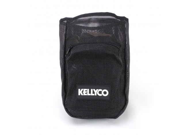 Kellyco Vintage Logo Mesh Finds Pouch