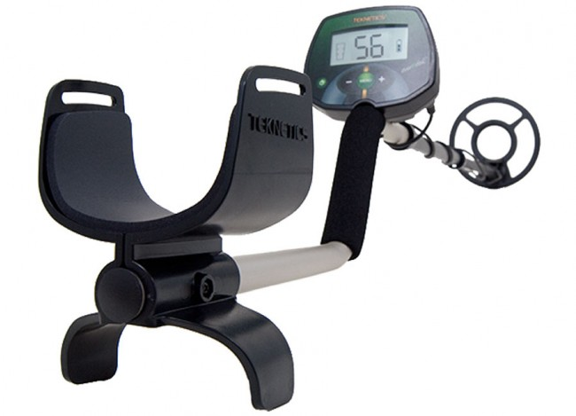 Teknetics EuroTek Metal Detector shown in full view from Kellyco Metal Detectors