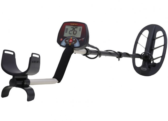 Teknetics EuroTek Pro 11DD Metal Detector shown in full view from Kellyco Metal Detectors