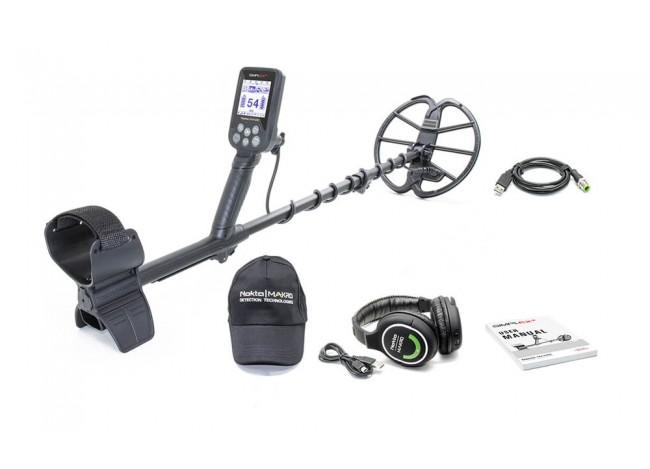 Nokta Makro Simplex+ Metal Detector with Wireless Headphones from Kellyco Metal Detectors