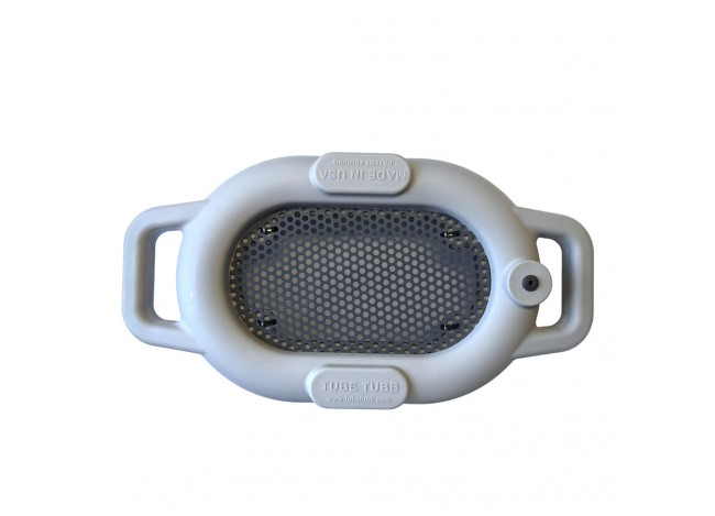Top of Tube Tubb Floating Sifter on White Background