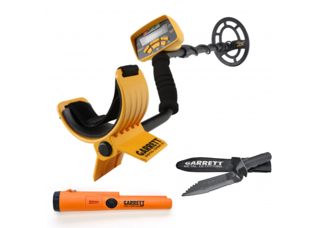 ACE 400, AT Pro Pointer, and Edge Digger on White background