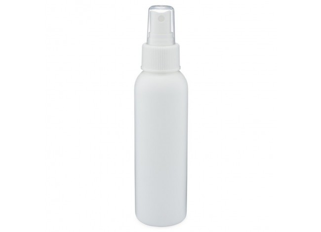White Plastic Bullet Bottle with Fine Mist Sprayer